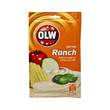 Olw Dip Mix Ranch 24g/ Salsa Dipear Ranchera