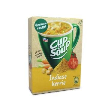 Unox Cup a Soup Indiase Kerrie x3/ Sopa de Sobre de Curry de India