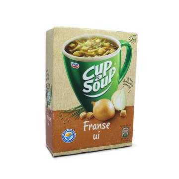 Unox Cup a Soup Franse Ui x3/ Packet Soup French Onion