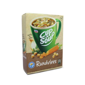 Unox Cup a Soup Rundvlees x3/ Packet Soup Meat and Vegetables