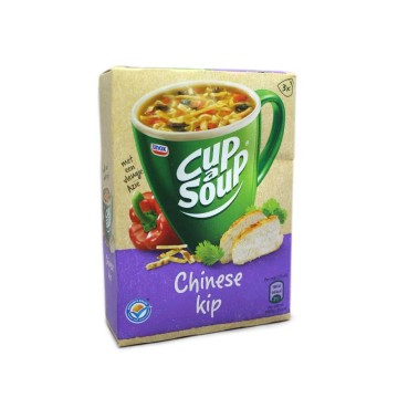 Unox Cup a Soup Chinese Kip x3/ Packet Soup Chinese Chicken