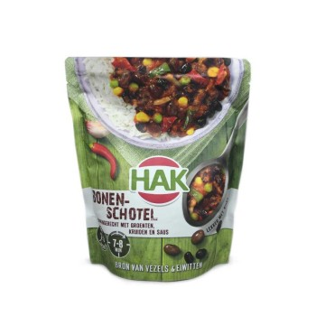 HAK Bonenschotel 500g/ Beans with Herbs and Vegetables