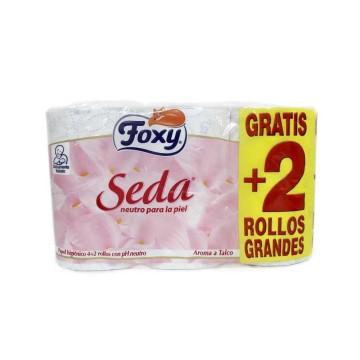 Foxy Seda Papel Higiénico pH Neutro x4/ Toilet Paper