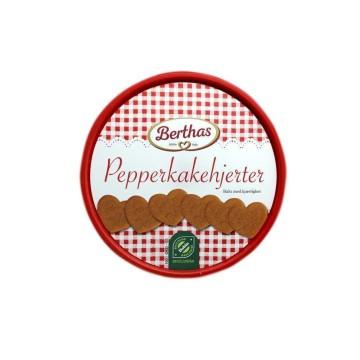 Berthas Pepperkakehjerter Økologisk 350g/ Ecological Ginger Biscuits