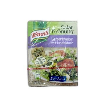 Knorr Salatkrönung Gartenkräuter mit Knoblauch x5/ Salad Seasoning Garlic&Spices