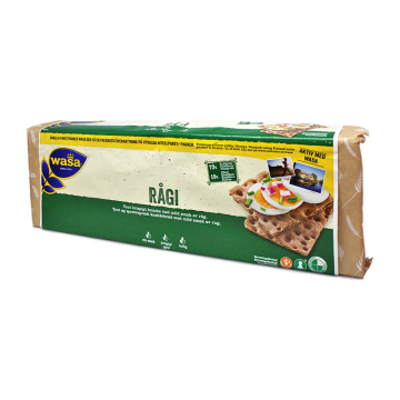 Wasa Rågi 2x250g/ Swedish Bread