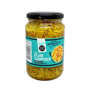 Sum&Sam Atjar Tjampoer 340g/ Sweet&Sour Vegetables Mix