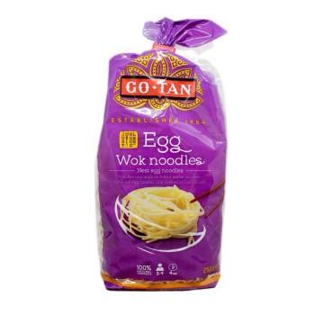 Go-Tan Egg Wok Noodles 250g/ Tallarines de Huevo