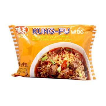 Kung-Fu Noodles Soup Beef / Fideos Instantáneos sabor a Ternera 85g