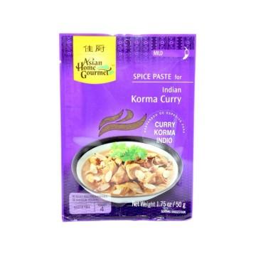 Asian H. Gourmet Indian Korma Curry Mild 50g