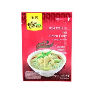 Asian H.Gourmet Thai Green Curry Hot 50g