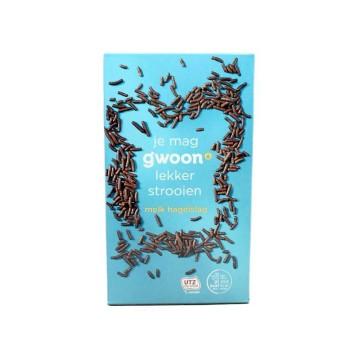 Gwoon Hagelslag Melk 400g/ Milk Choco Sprinkles