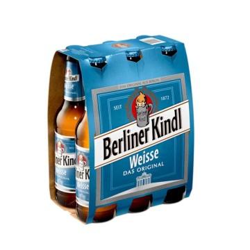 Berliner Kindl Weisse 6x33cl/ Cerveza Ácida Trigo