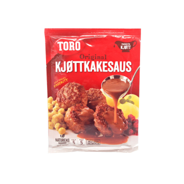Toro Original Kjøttkakesaus 45g/ Salsa para Albóndigas