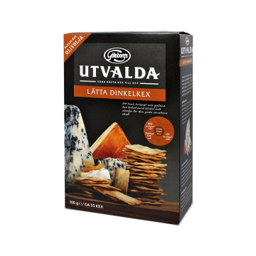 Göteborgs Utvalda Lätta Dinkelkex 100g/ Toasted Breads