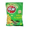 Olw Dill & gräslök 175g/ Patatas Fritas Cebollino y Eneldo