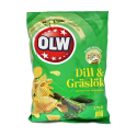 Olw Dill & Gräslök 175g/ Potato Crisps Dill and Chives