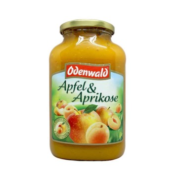 Odenwald Apfel & Aprikose 720g/ Apple&Apricot Puree