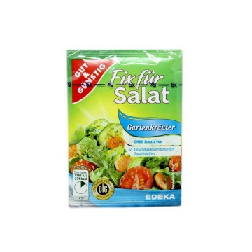 Gut&Günstig Fix Für Salat Gartenkräuter x5/ Mix Ensalada Hierbas