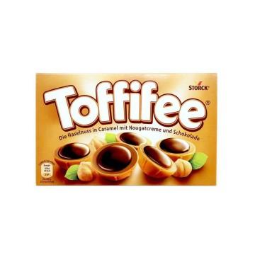 Storck Toffifee 125g x15/ Caramel&Chocolate Hazelnuts