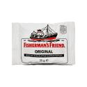 Fisherman's Friend Menthol&Eucalyptus 25g/ Regaliz Mentol Eucalipto Blanco