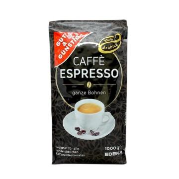 Gut&Günstig Caffè Espresso Ganze Bohnen 1Kg/ Coffee Beans