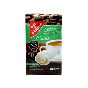 Gut&Günstig Kaffee Pads Klassik x20/ Monodosis Café