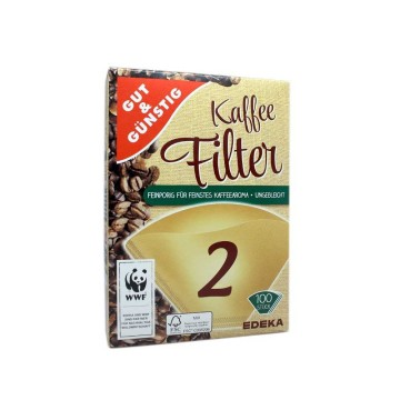 Gut&Günstig Kaffee Filter 2 x100/ Coffee Filters