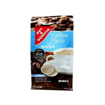 Gut&Günstig Kaffee Pads Mild x20/ Monodosis Café Suave