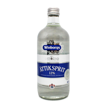 Winborgs Ättiksprit 12% 0,5L/ Vinagre Sueco