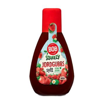 Bob Jordgubbssylt 425g/ Strawberry Jam