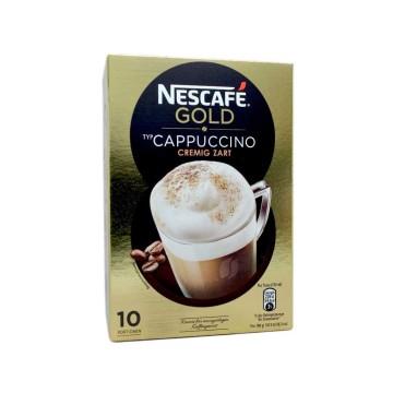 Nescafé Gold Cappuccino x10/ Instant Sachets