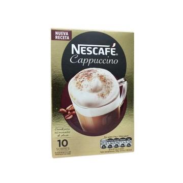 Nescafé Cappuccino Sobres x10/ Instant Coffee