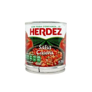 Herdez Salsa Molho Casero Mexicano 210g
