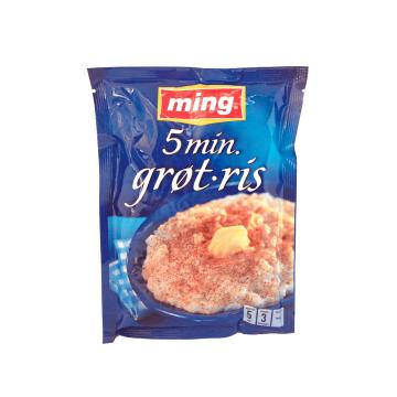 Ming Grøtris 5 Min / Arroz con Leche Rápido 185g