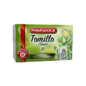 Pompadur Tomillo Infusión x20/ Thyme Infusion
