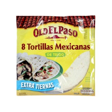 Old El Paso Tortillas Mexicanas x8/ Mexican Wraps
