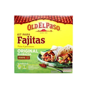 Old El Paso Kit para Fajitas Barbacoa