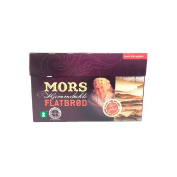 Mors Flatbrød Hjemmebakt 260g/ Crunchy Norwegian Bread