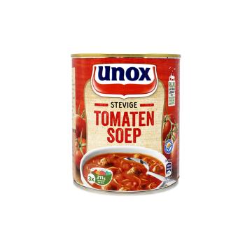 Unox Stevige Tomatensoep 800ml/ Sopa Tomate con Carne