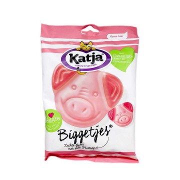 Katja Biggetjes Fruitgums 300g/ Fruit Gums