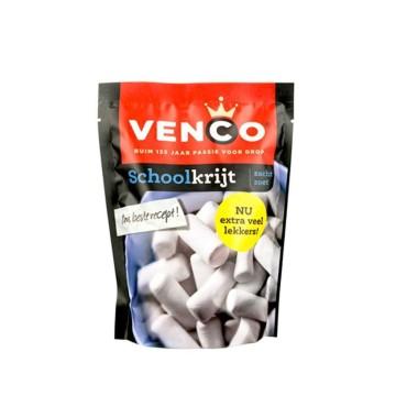 Venco Schoolkrijt 152g/ Caramelos Menta&Salmiak