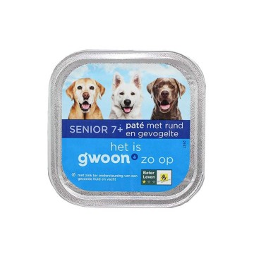 Gwoon Rund & Groenten 150g/ Dog food Beef&Vegetables