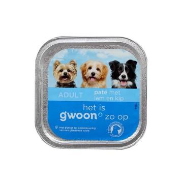 Gwoon Paté met Lam en Kip 150g/ Dog Food Lamb&Chicken