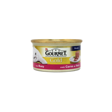 Gourmet Gold Buey 85g/ Cat food Beef