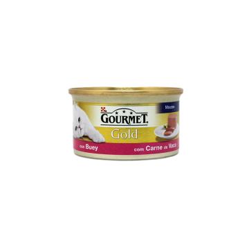 Gourmet Gold Buey 85g/ Comida Gatos de Buey