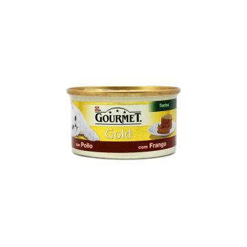 Gourmet Gold Kip 85g/ Comida Gatos de Pollo