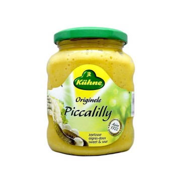 Kühne Piccalilly Originele 360g/ Bittersweet & Vegetables