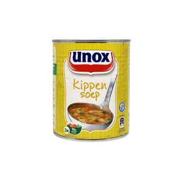 Unox Stevige Kippensoep 800ml/ Sopa de Pollo Espesa
