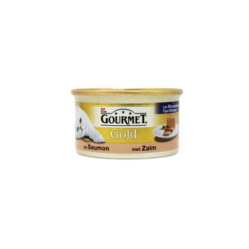 Gourmet Gold Salmon 85g/ Comida para Gato Salmón